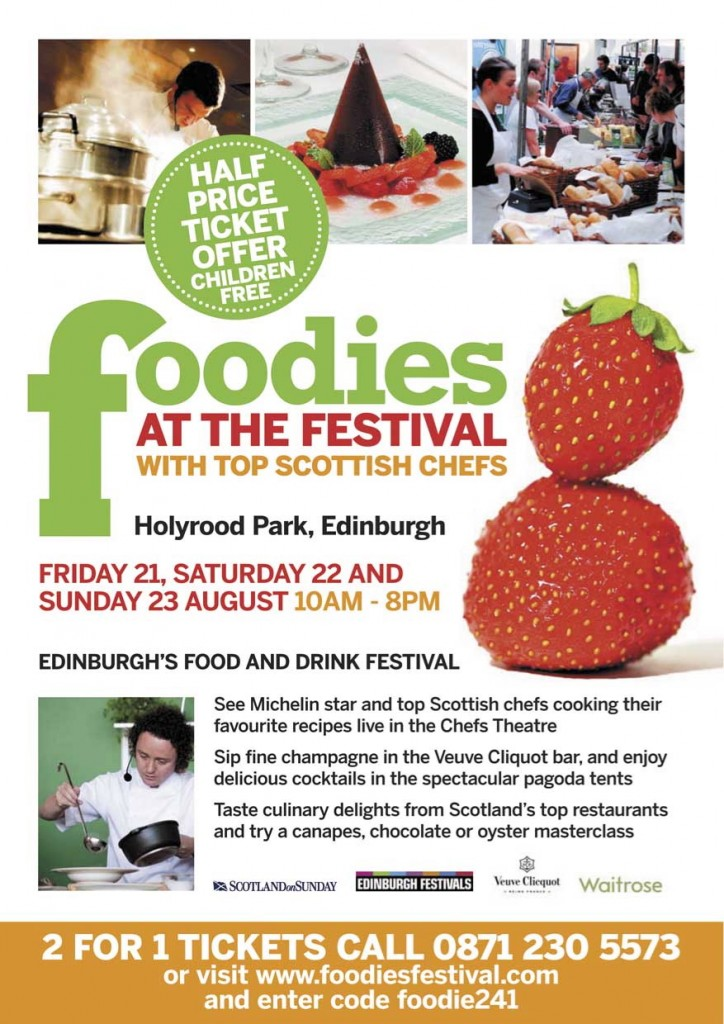 foodies Edinburgh_front