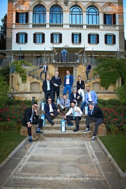 Raj Nagra and the finalists for Bombay Sapphir Worlds Most Imaginative B...