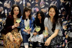 at the House of Hackney Store launch party, 131 Shoreditch High Street, London