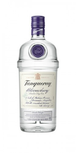 Tanqueray Bloomsbury Gin bottle